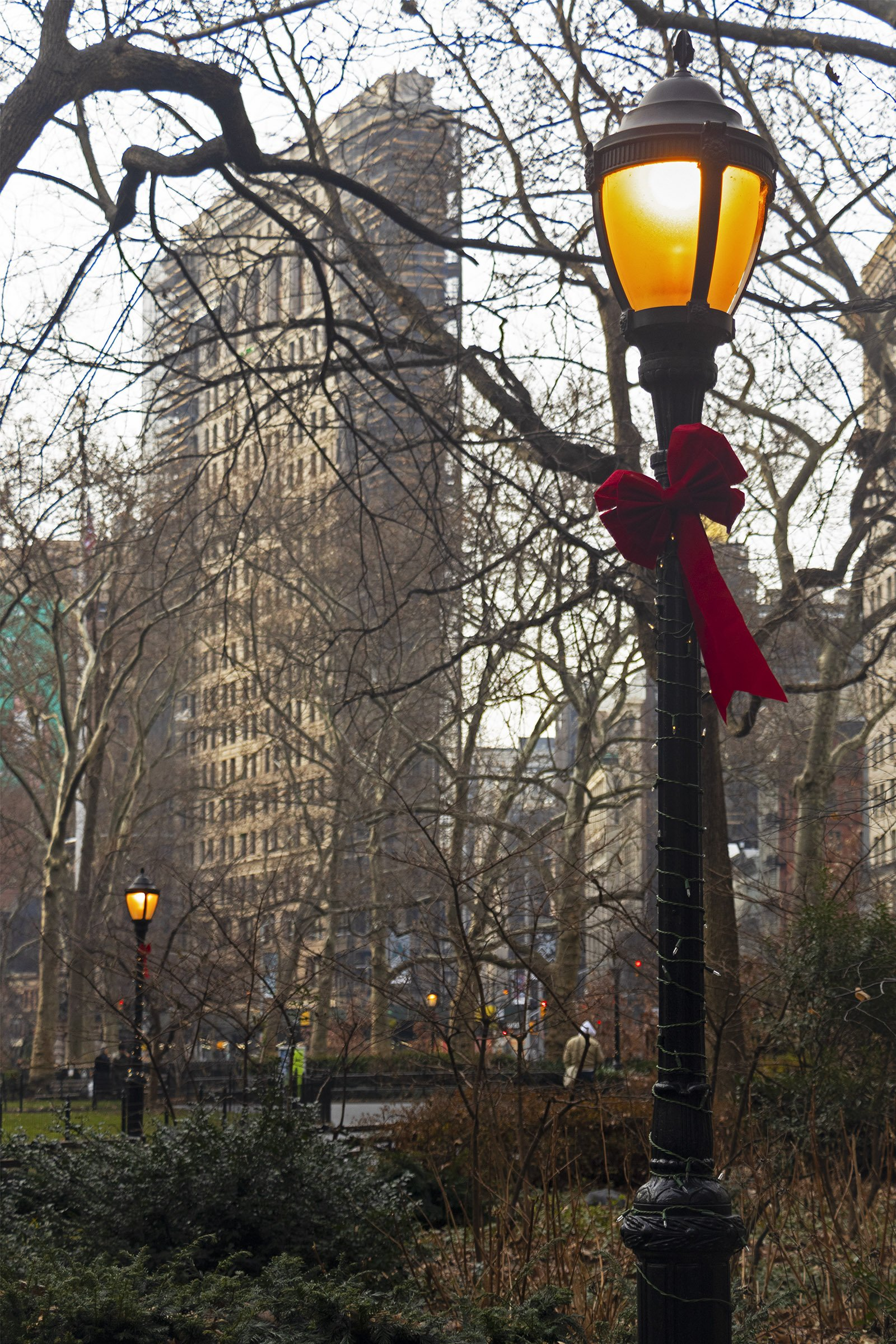 Madison Square Park and Flat Iron Building