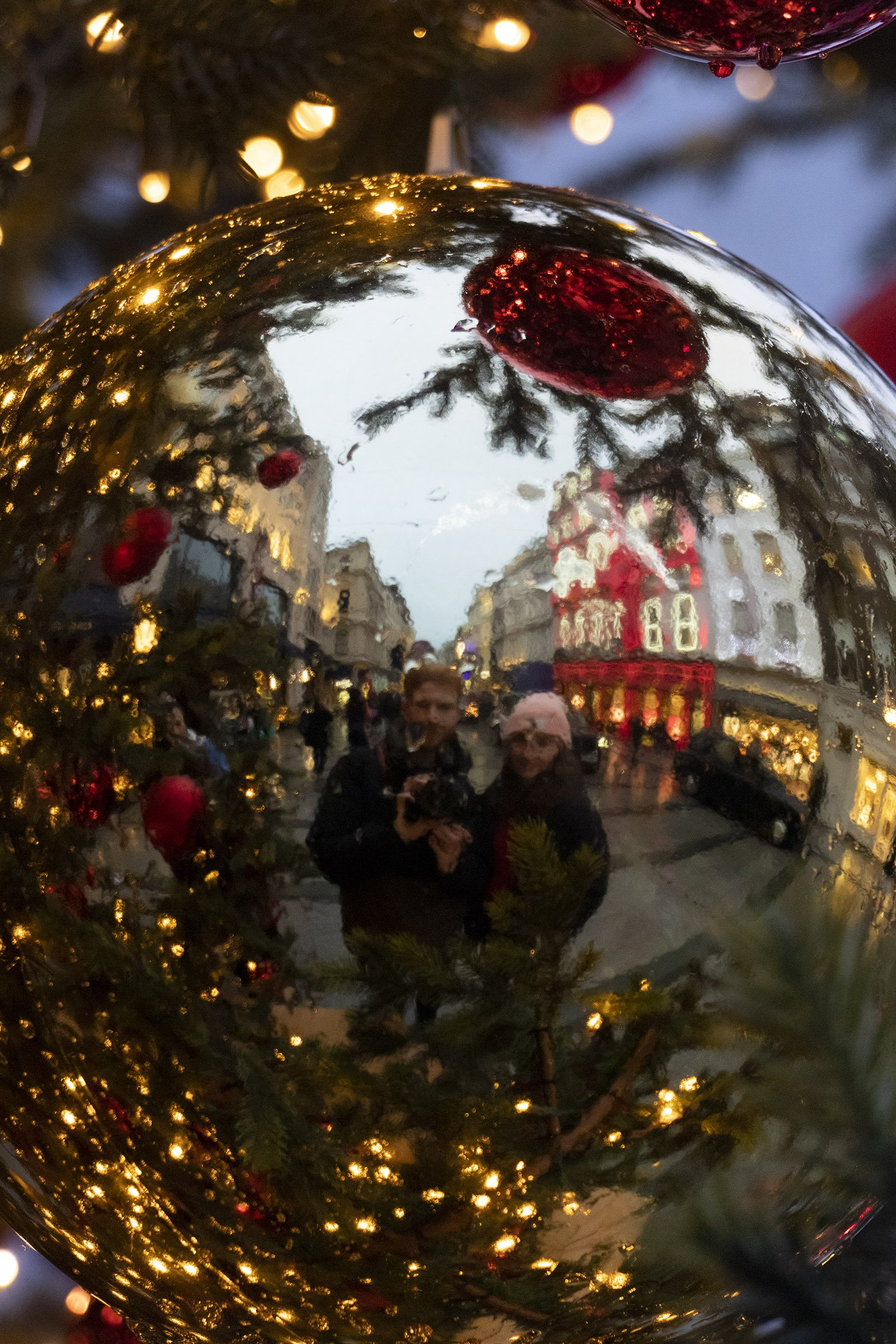 Reflection in bauble