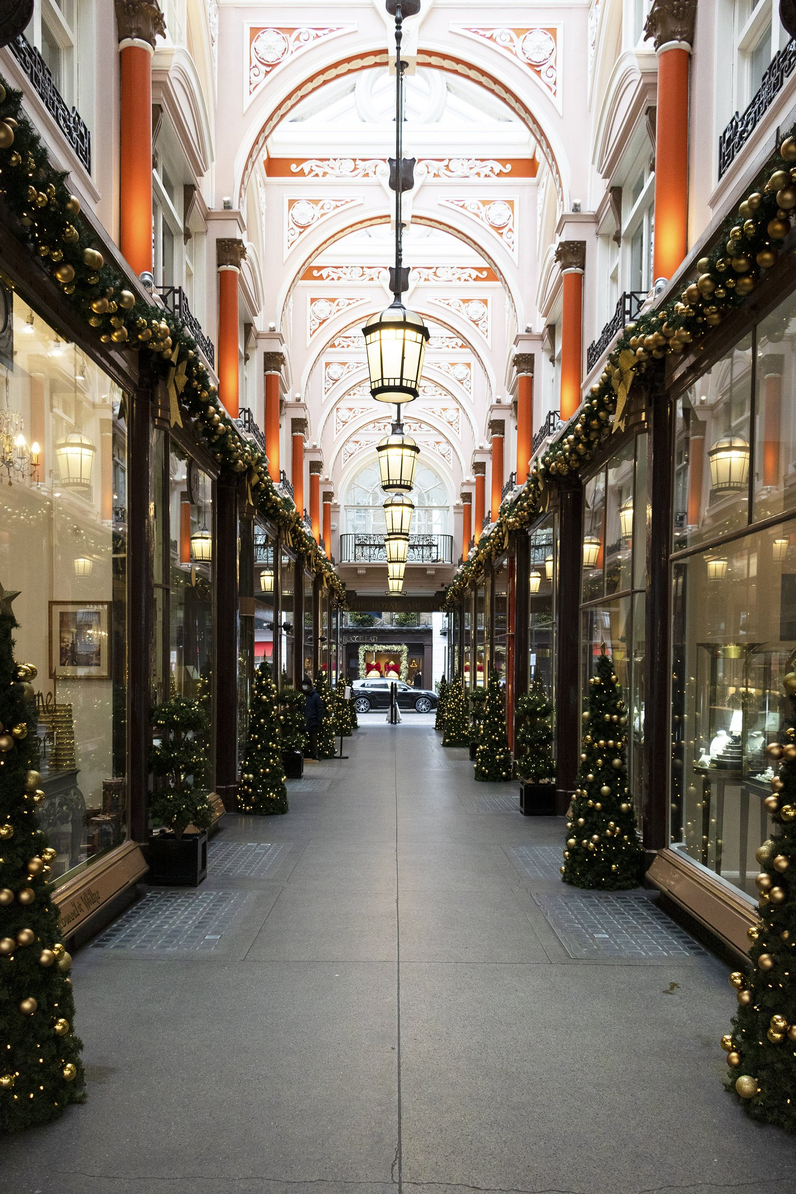 Royal Arcade Christmas decorations