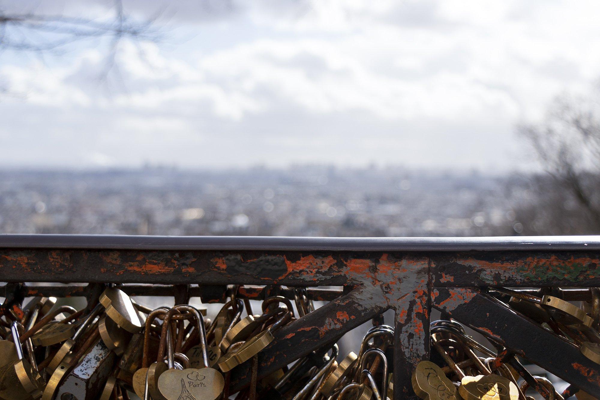 Sacre Coeur, Paris locks