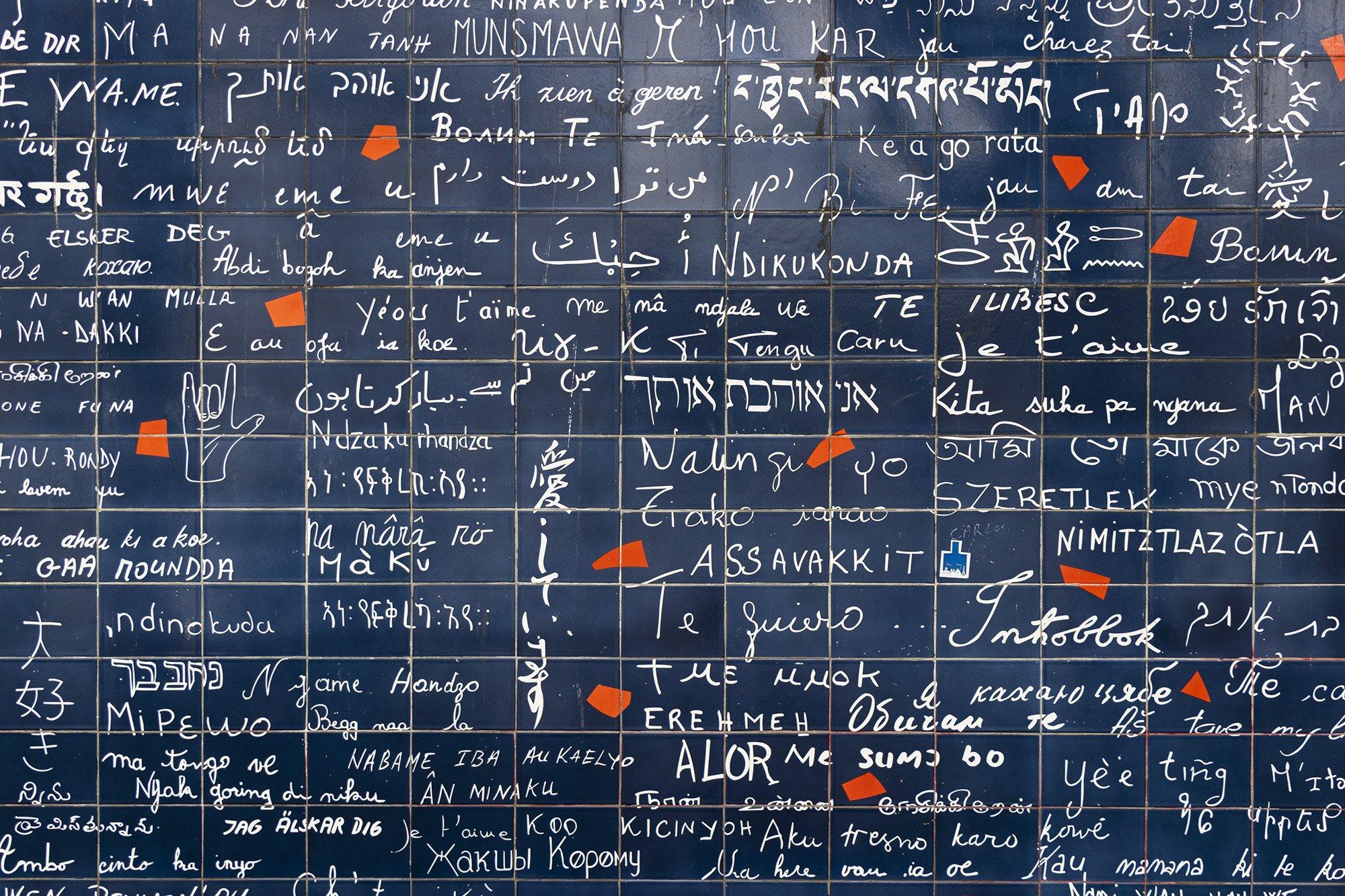 Wall of Love, Paris