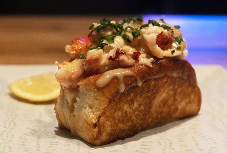 Lobster roll Boston Timeout Market