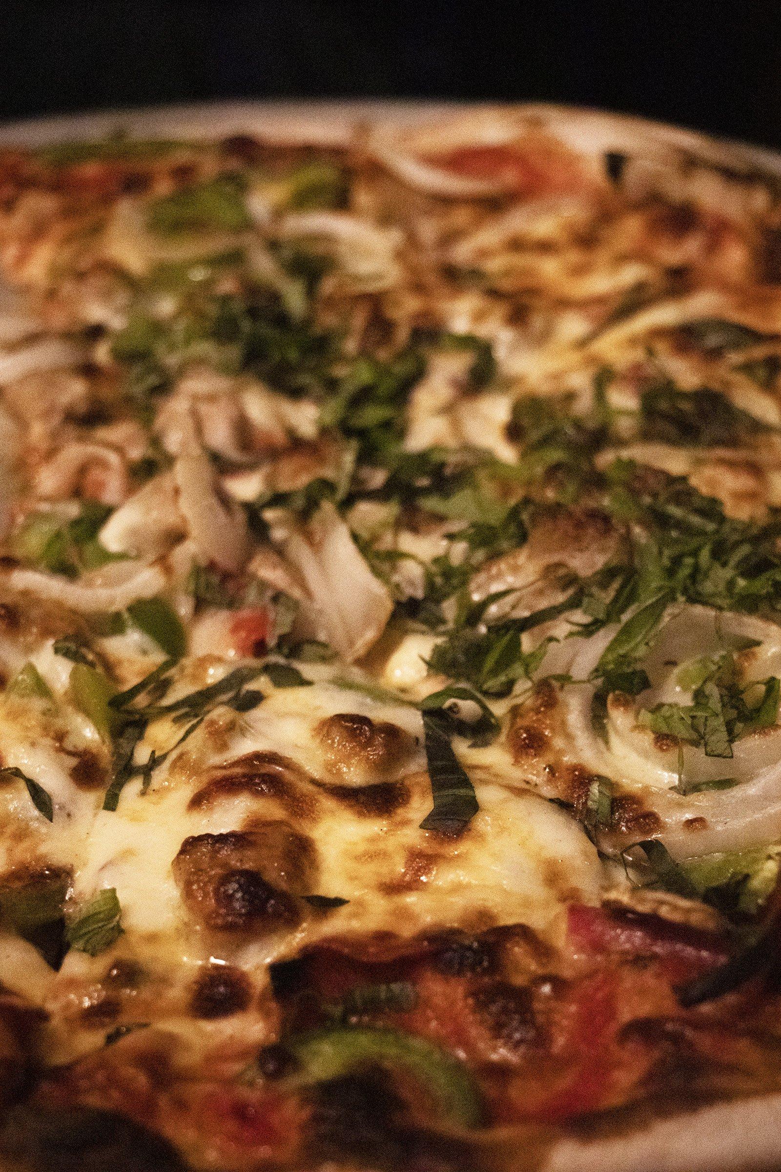 Pizza from Regina Pizzeria, Boston
