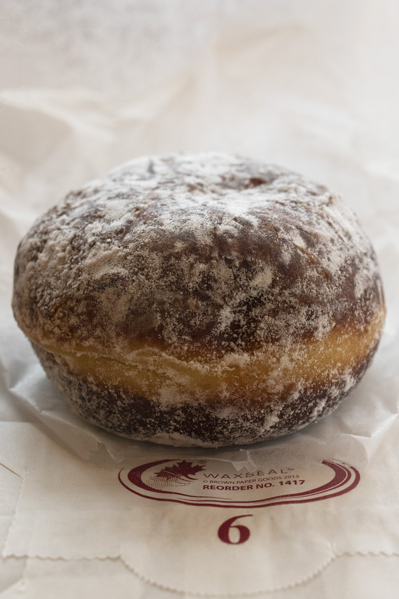 Blueberry jam donut from Union Square Donuts, Boston