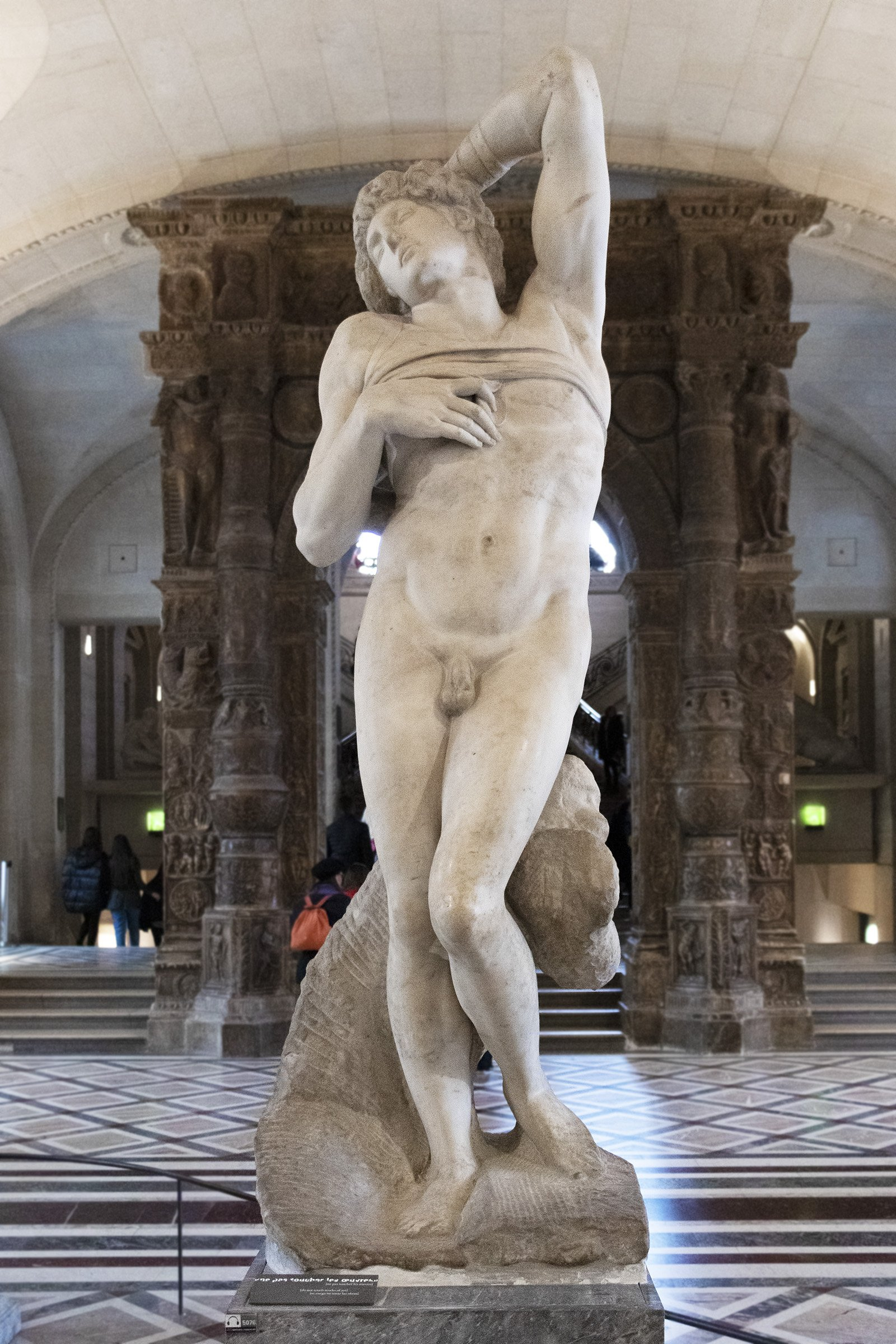Michelangelo's Dying Slave, the Louvre