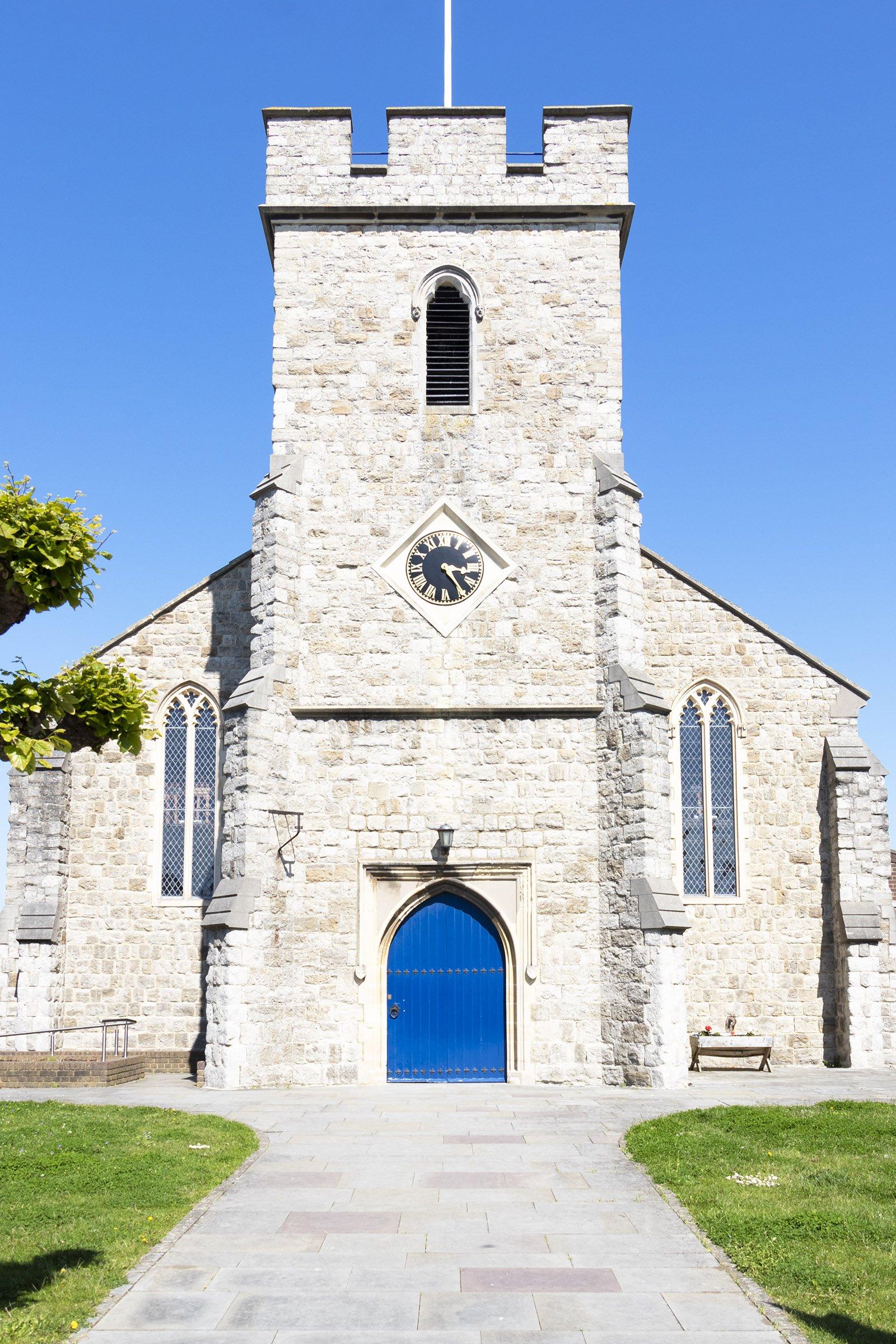 St Alphege church, Whitstable