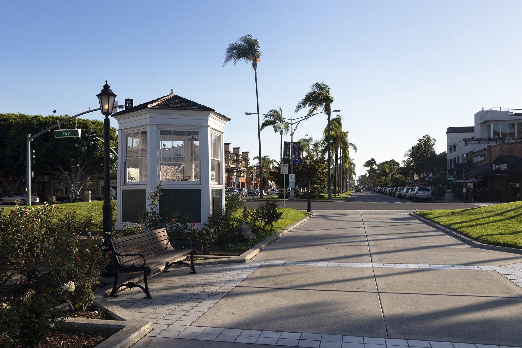 Centennial Park and Orange Avenue, Coronado
