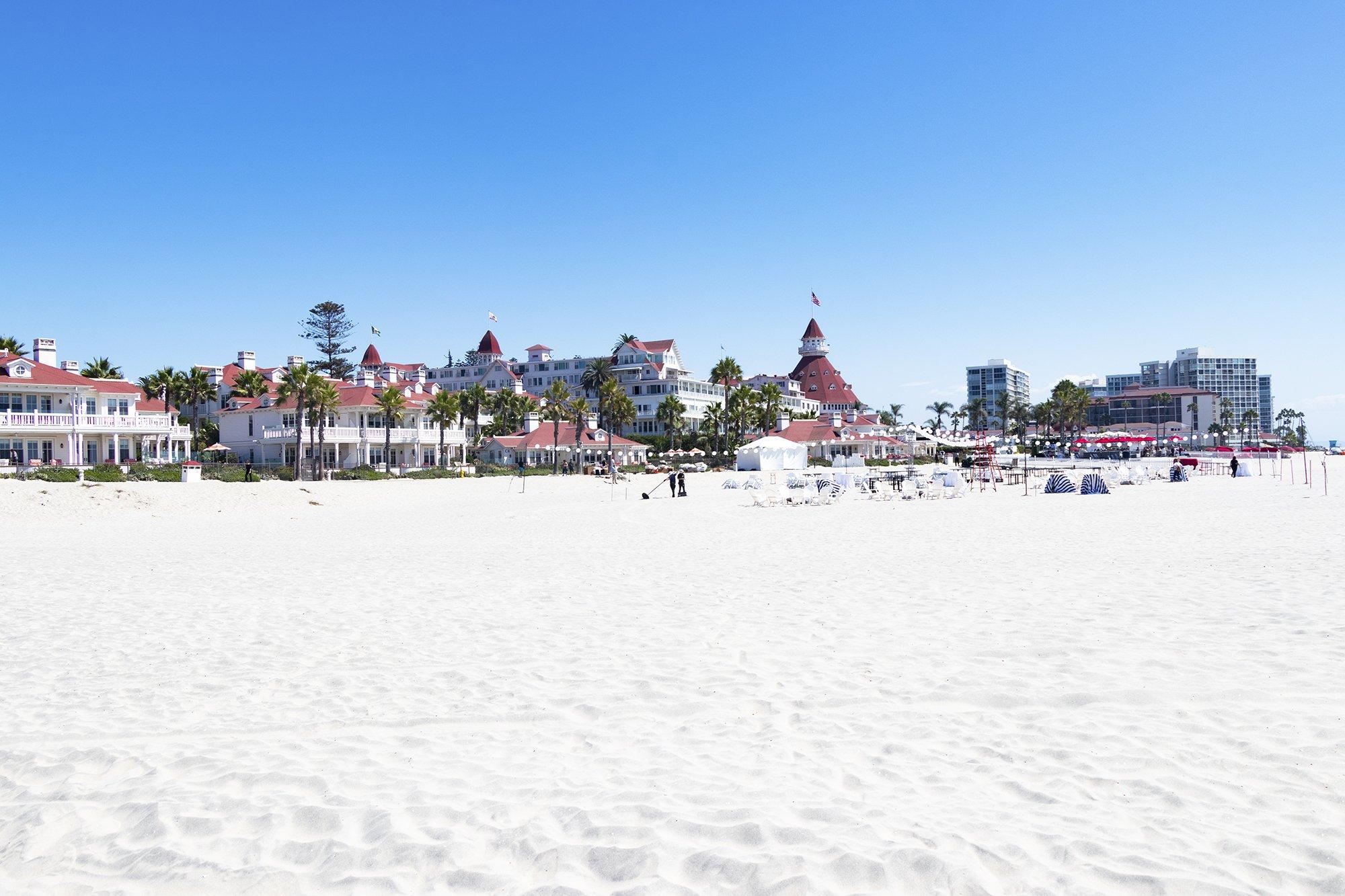 Coronado Central Beach and Hotel del Coronado