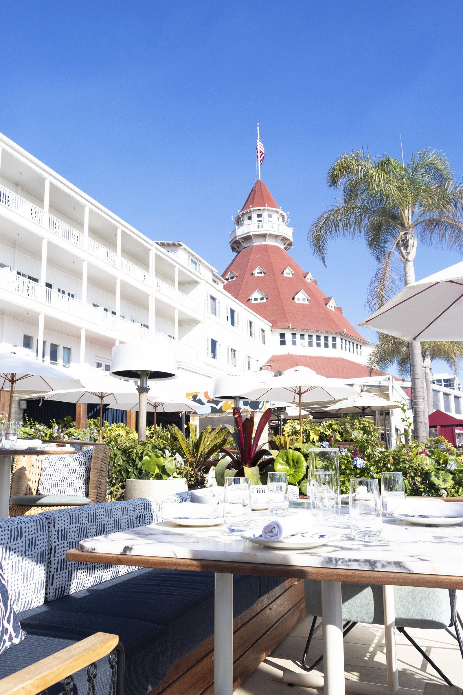 Hotel del Coronado restaurant